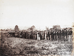 Group of Confederate Prisoners at Fairfax Court-House